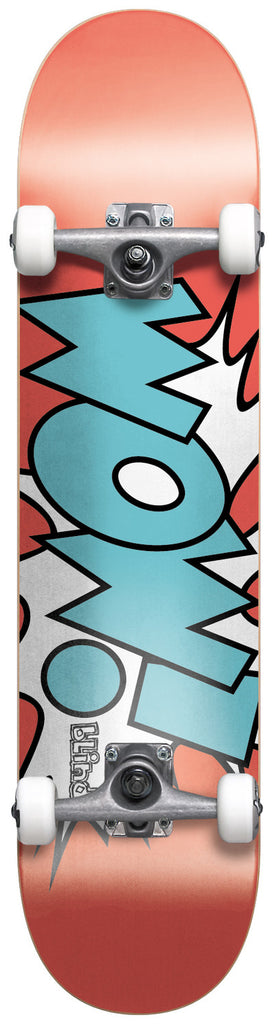 Blind Wow! Youth Complete Skateboard - 7.3 x 31 - Watermelon/Cyan