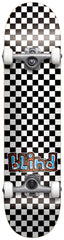 Blind Checkerboard Complete Skateboard - 7.5 - Black/White