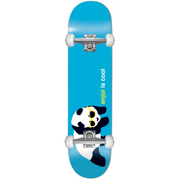 Enjoi Cool Complete Skateboard - 7.6 - Blue