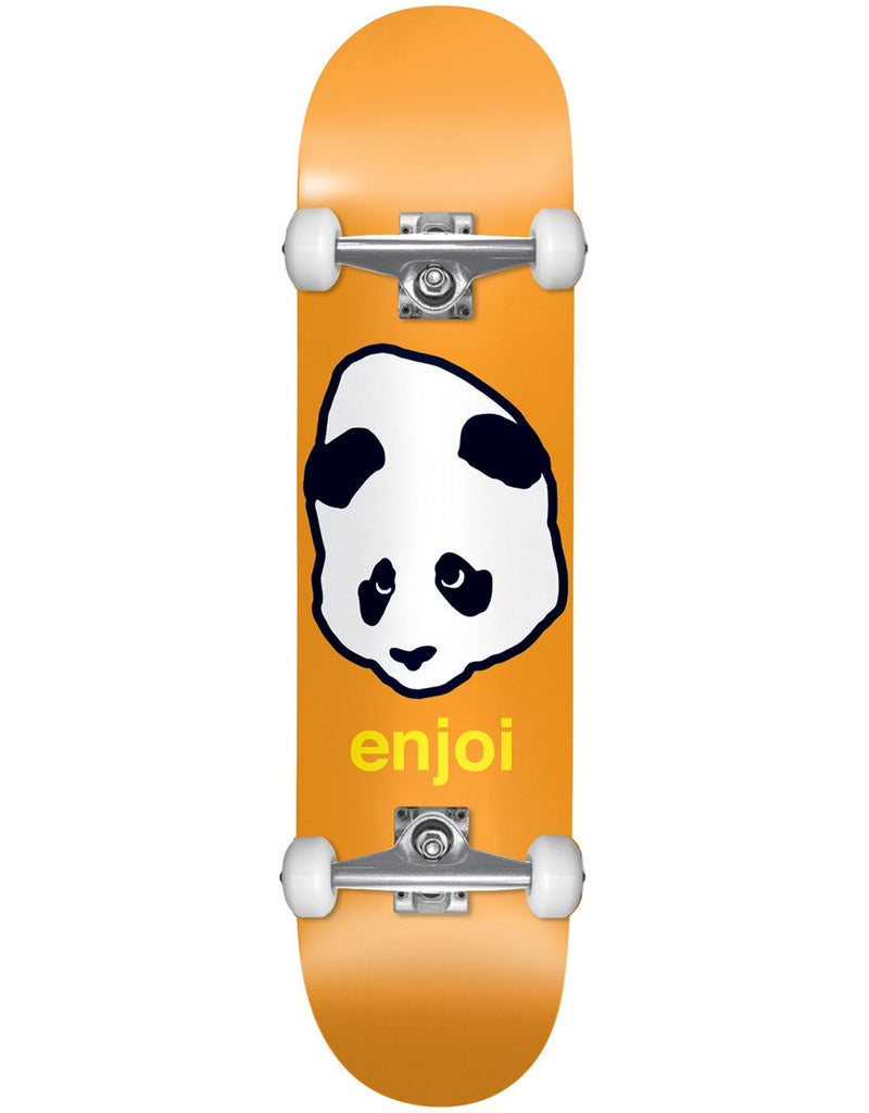 Enjoi Pandahead Complete Skateboard - 8 - Orange