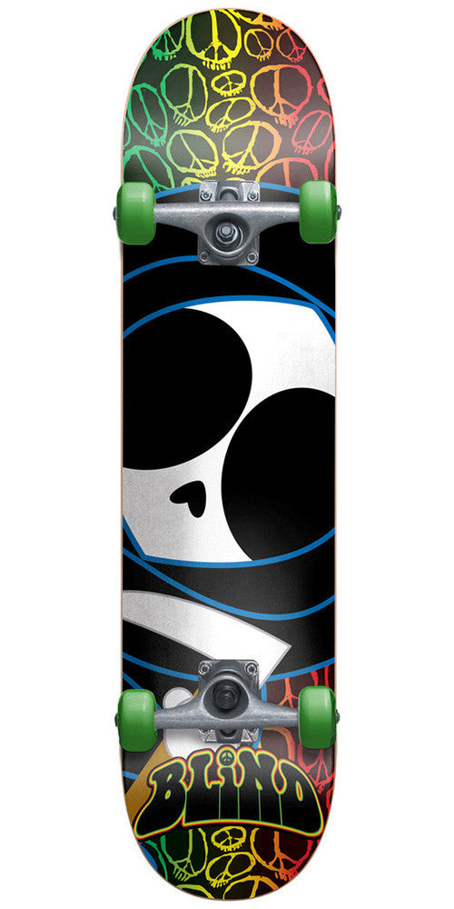 Blind Peace Kenny Youth Mid - Complete Skateboard - 7.3in - Multi