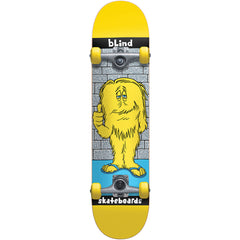Blind Looney Monster Youth Complete Skateboard - Yellow - 7.0