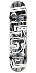 Blind Heady Tie Dye Complete Skateboard - Smoke - 7.6