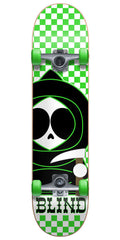 Blind Checkerboard Kenny Complete Skateboard - Neon Green - 7.3