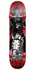 Blind Four Horsemen Complete Skateboard - Red/Black - 7.4