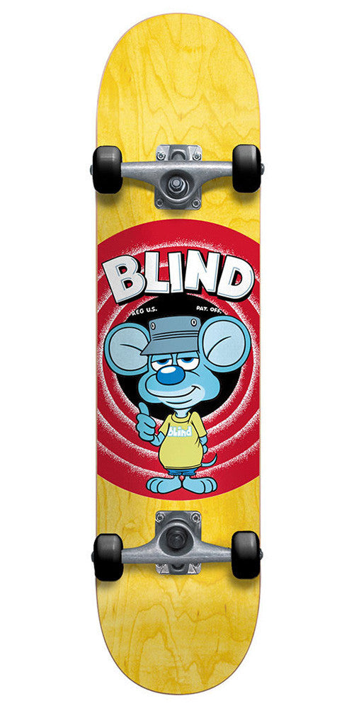 Blind Looney Mouse Complete Skateboard - Yellow - 8.0