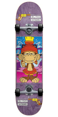 Blind Looney Monkey Complete Skateboard - Purple - 7.6