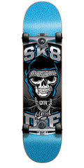 Blind Sk8 Or Die Complete Skateboard - Blue - 7.0