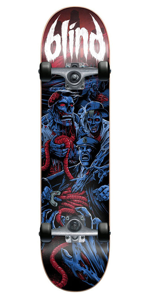 Blind Revenge Complete Skateboard - Blue/Red - 8.0