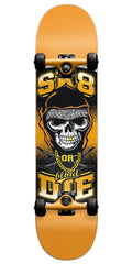 Blind Sk8 Or Die Complete Skateboard - Orange - 7.3