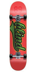 Blind Athletic Skin V2 Complete Skateboard - Red/Green - 8.0in