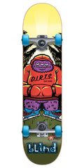 Blind D.I.R.T.S. Hood Monster Complete Skateboard - Multi - 7.875in