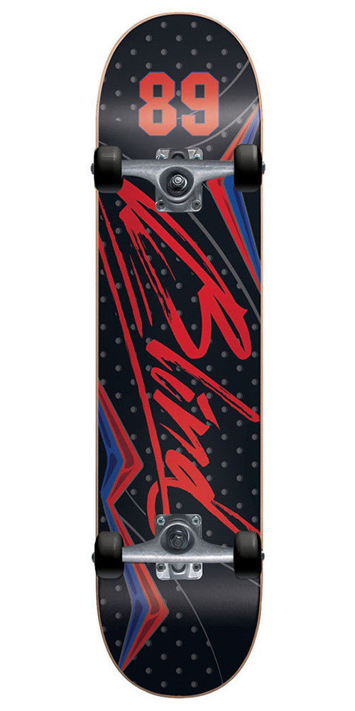 Blind VII Complete Skateboard - Black/Red - 7.75in