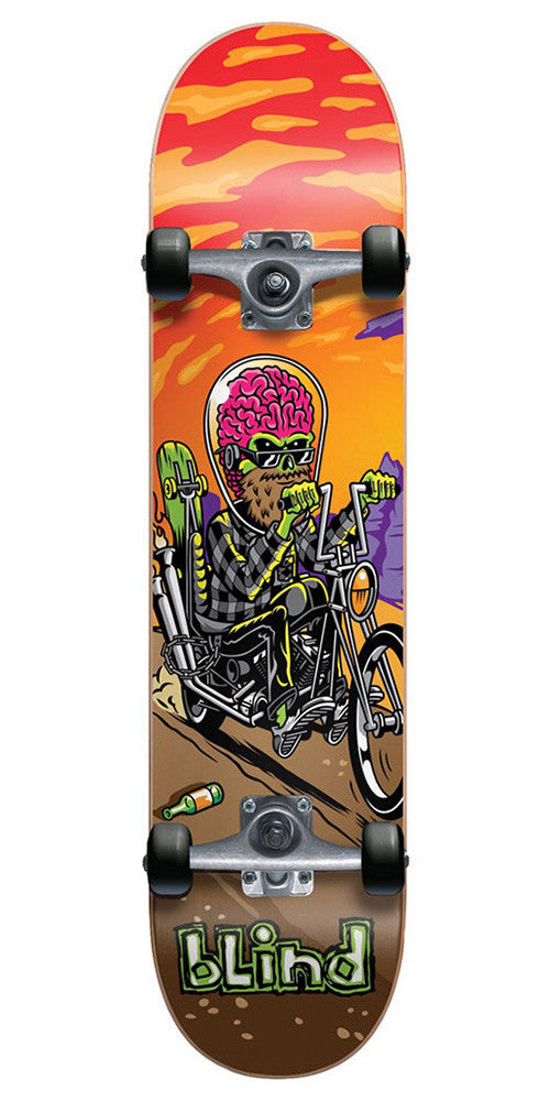 Blind D.I.R.T.S. Road Warrior Complete Skateboard - Multi - 7.25in