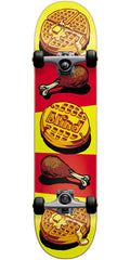 Blind Chicken & Waffles Complete Skateboard - Yellow/Red - 7.625in