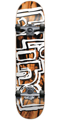 Blind Heady Tie Dye FP Complete Skateboard - Orange/Black - 7.75in