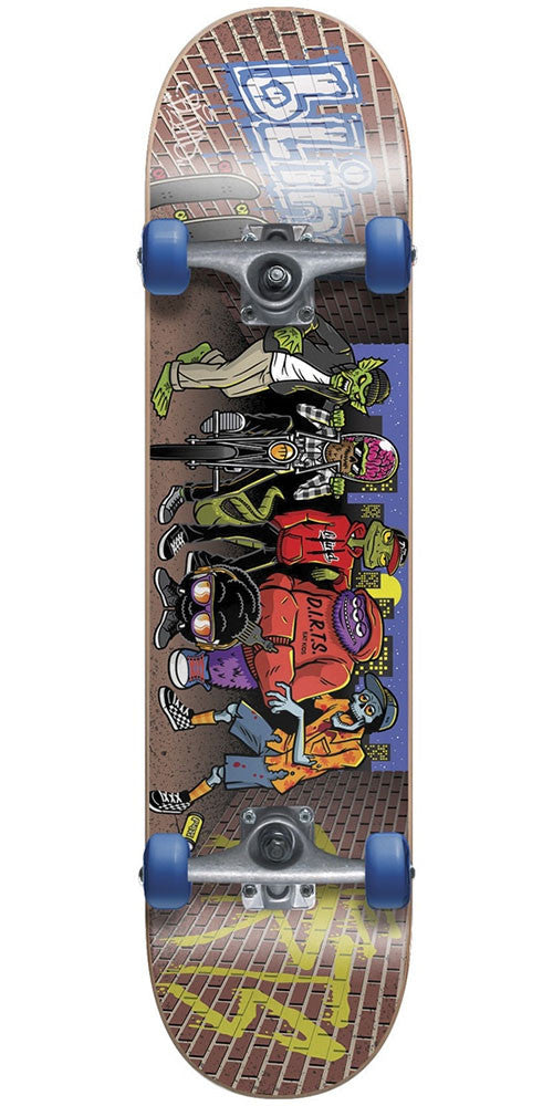 Blind D.I.R.T.S. Crew Youth Complete Skateboard - Multi - 7.25in