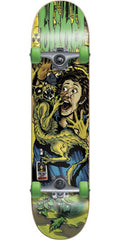 Blind Cat Scratch Complete Skateboard - Green/Yellow - 7.75in