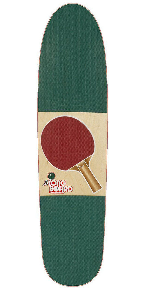 Alien Workshop Pong Pusher 2 Complete Skateboard - 9in x 39in - Red/White/Blue - Longboard