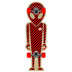 Alien Workshop Soldier Complete Skateboard - 10.12 x 31.5 - Red