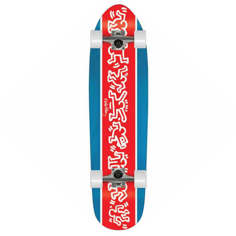 Alien Workshop Haring Racer Boi Complete Skateboard - 9.0in x 34in - Blue/Red