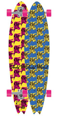 Alien Workshop Andy Warhol Cow Complete Skateboard - 8.0in x 34.5in - Yellow/Pink