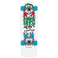 Alien Workshop Haring Skateout Complete Skateboard - 9.75in x 30.0in - White