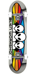 Alien Workshop Spectrum Foil Complete Skateboard - Silver - 7.875in x 31.625in