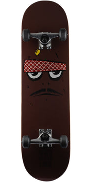 cc91d6ba230 Toy Machine Poo Poo Face Complete Skateboard - Brown - 8.375in x 31.75in