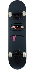 Toy Machine Bloodshot Sect Eye Face Complete Skateboard - Grey - 8.25in x 31.5in