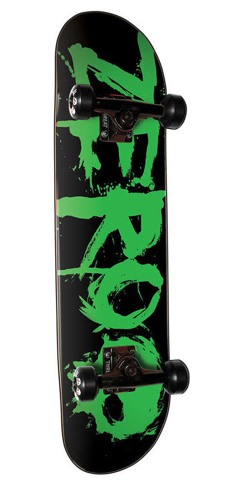 Zero Blood Complete Skateboard - Green - 8.0in