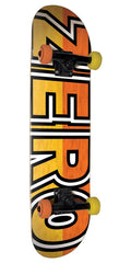 Zero Boserio Signature Bold Complete Skateboard - Yellow/Orange - 7.875in