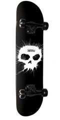 Zero Thomas Single Skull Complete Skateboard - Black - 7.75in