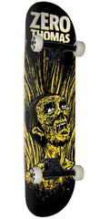 Zero Thomas Apocalypse Complete Skateboard - Black/Yellow - 8.0in