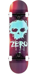 Zero Blood Skull Complete Skateboard - Black - 8.0in