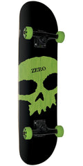 Zero Single Skull K/O Complete Skateboard - Black - 8.125in