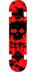 Zero Jamie Thomas Fallen Blood Skull Complete Skateboard - Red/Black - 7.75in