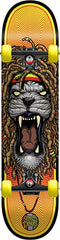 Speed Demons Roots Lion Youth Complete Skateboard - 7.3 - Yellow
