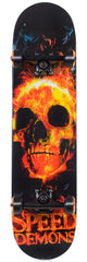 Speed Demons Goon Complete Skateboard - 7.75 x 31.25 - Black/Red