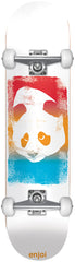 Enjoi Printhead Complete Skateboard - 8 - White