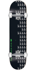 Enjoi Panda Invaders Complete Skateboard - 7.5 - Black
