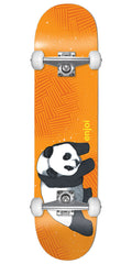 Enjoi Panda Animal Complete Skateboard - Orange - 7.75in