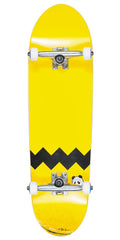 Enjoi Big Pants Small Wheels Complete Skateboard - Yellow - 8.63in