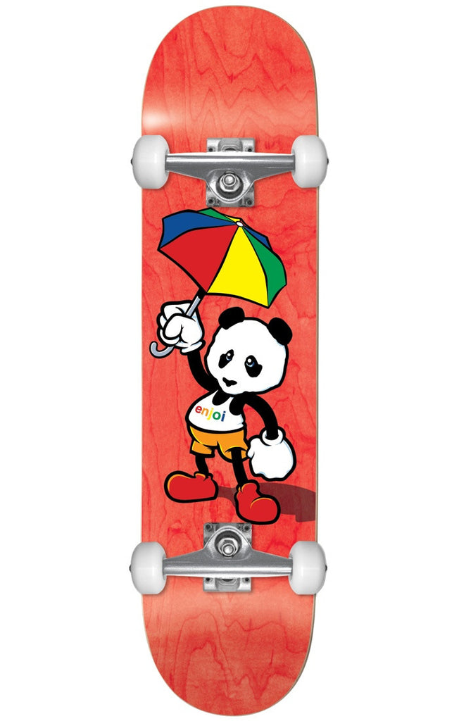 Enjoi Cartoon Panda Complete Skateboard - Multi - 8.0in