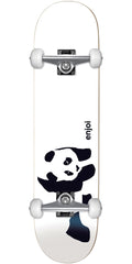 Enjoi Panda Soft Top Youth Complete Skateboard - Whitey - 6.75in