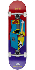 Enjoi Arcade Complete Skateboard - Multi - 8.0in
