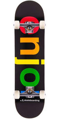 Enjoi Spectrum Complete Skateboard - Black - 7.875in