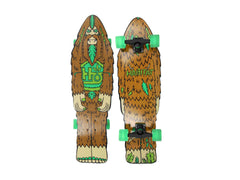 Habitat Bigfoot Cruiser Complete Skateboard - 9 - Brown