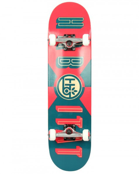 Habitat Headline Complete Skateboard - 8 x 31.7 - Red/Blue