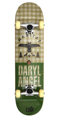 Habitat DA Daryl Angel Hinterland Hemp Complete Skateboard - 7.75 - Green